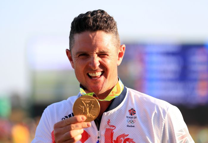 PURE GOLD Team GB's Justin Rose PA