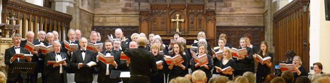 "St Mary of Furness R C Church, Ulverston Furness Bach Choir ""Haydn Revealed"" 25 th June 2016"