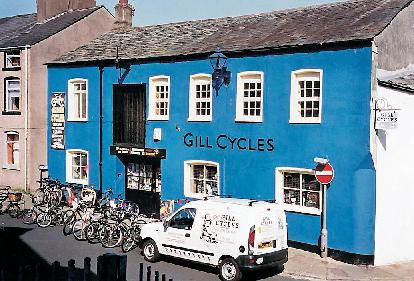 1 The Gill in Ulverston, when it was occupied by Gill Cycles