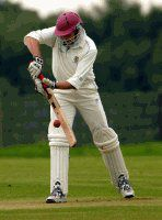 TON UP: Steve Chapman hit an unbeaten century for Haverigg in their winning draw at home against Penrith on Saturday