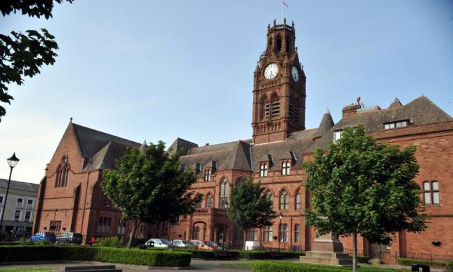 Barrow Town Hall LINDSEY DICKINGS