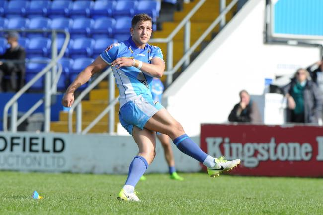Back in action: Barrow Raiders half-back Lewis Charnock makes his return from injury