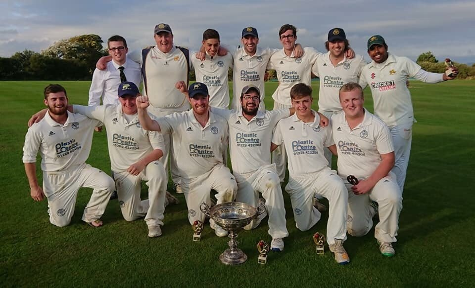 Champions: Furness retained the Cumbria County Cup			 Picture: Twitter via @FurnessCC