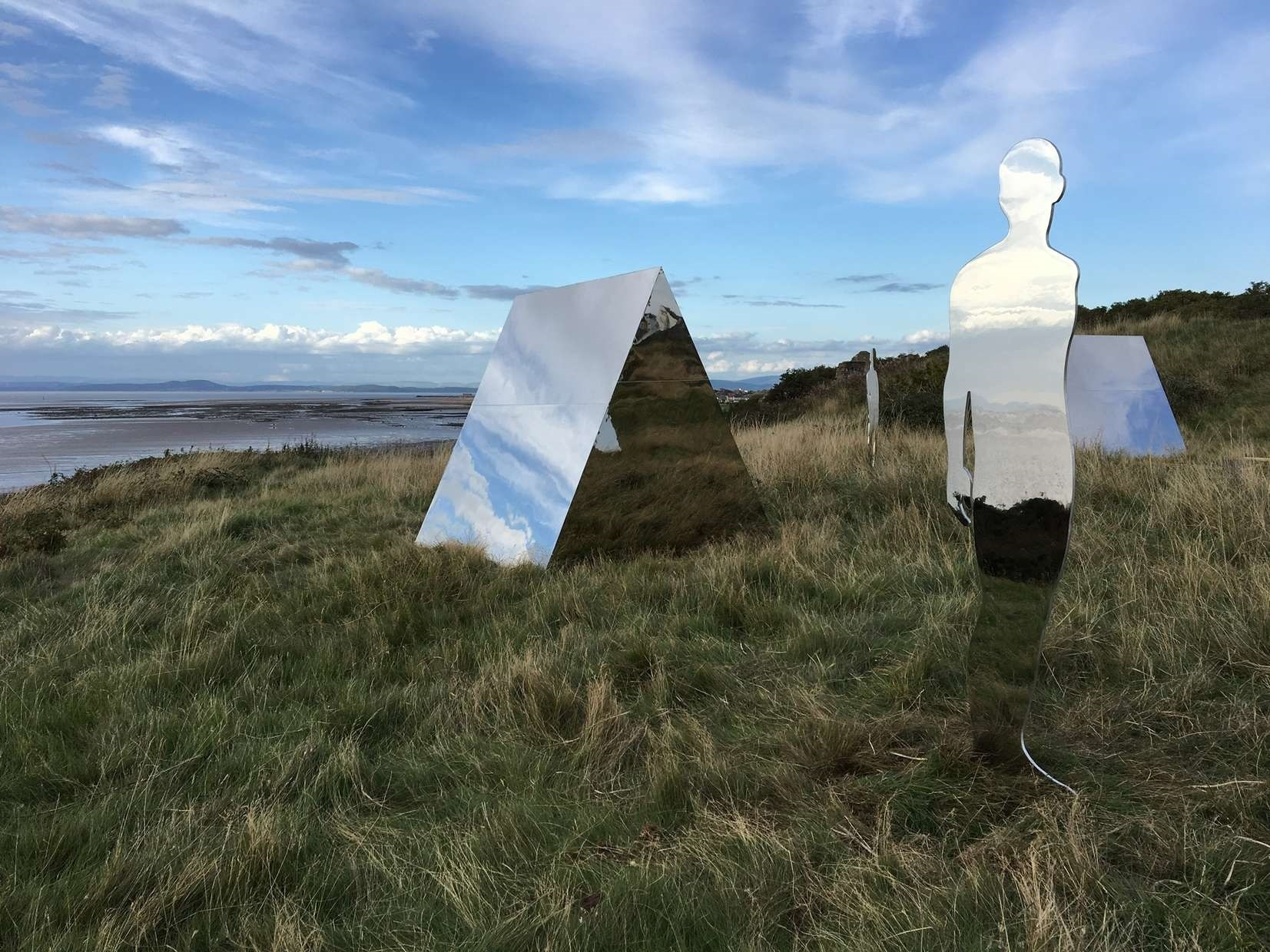 Rob Mulholland Settlement at Heysham Head (c) Elena Gifford