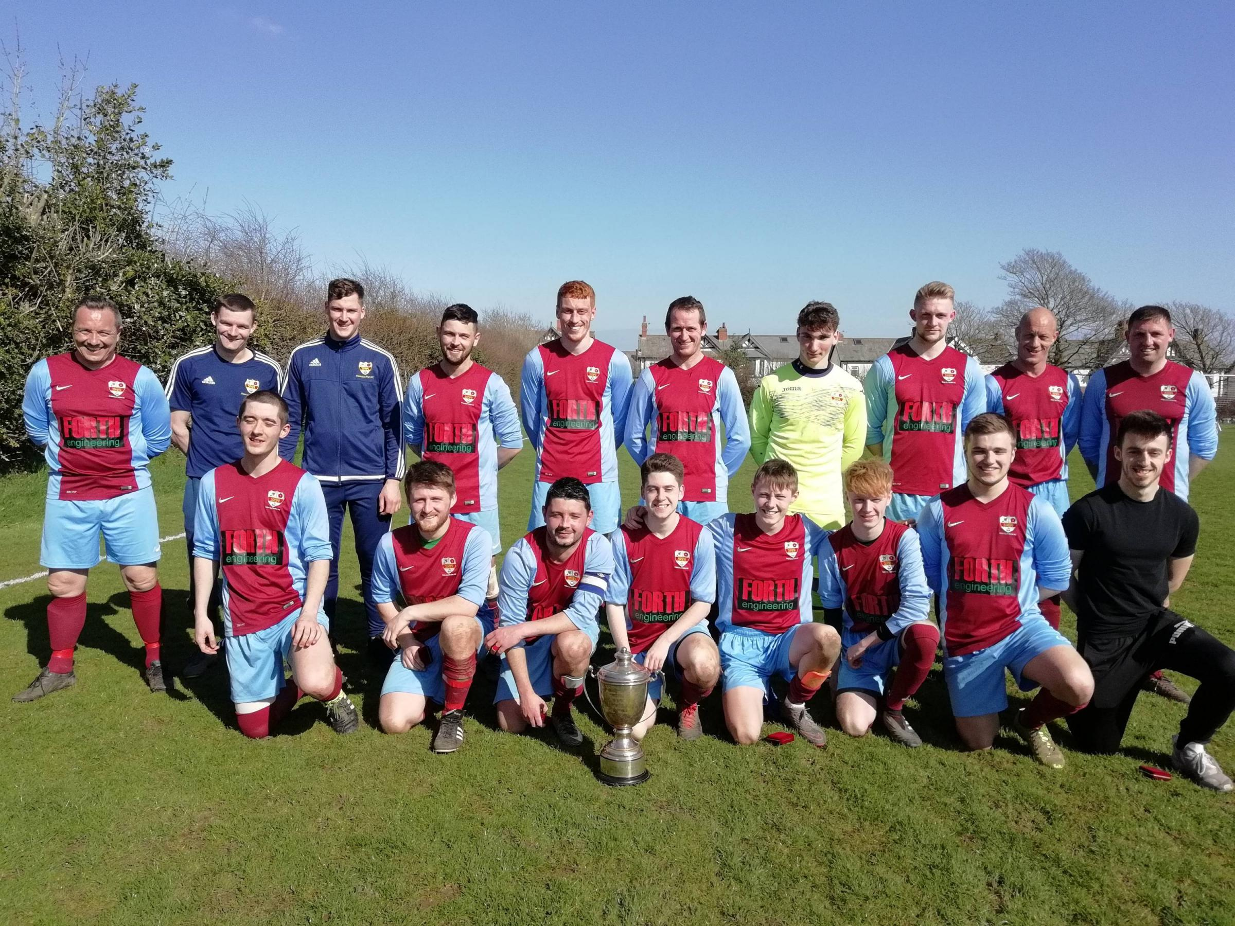 Riflemans Garage Furness Premier Division champions 2017/18 Hawcoat Park reserves. Saturday, April 14, 2018 SUBMITTED BY JOHN KNAGG