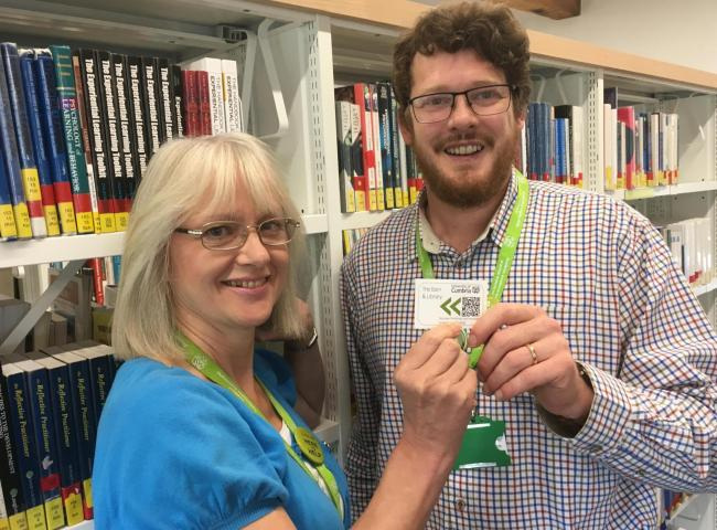 pioneering library smart card trialled at university s ambleside