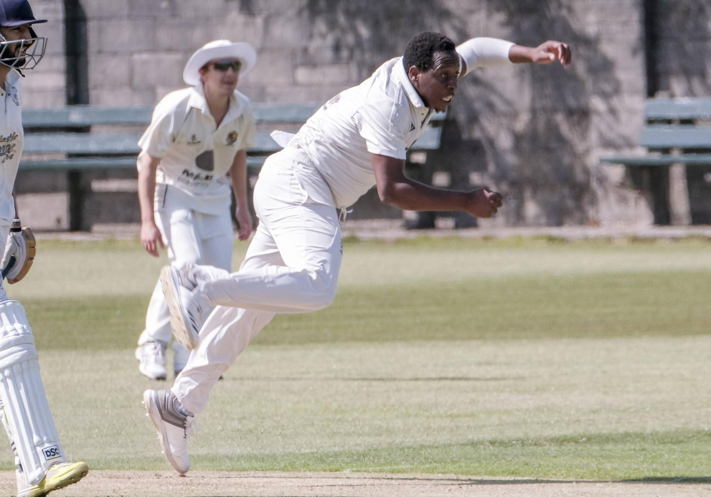 ALL-ROUNDER: Dalton professional Winstone Masakadza starred with bat and ball against Whitehaven		Picture: Milton Haworth