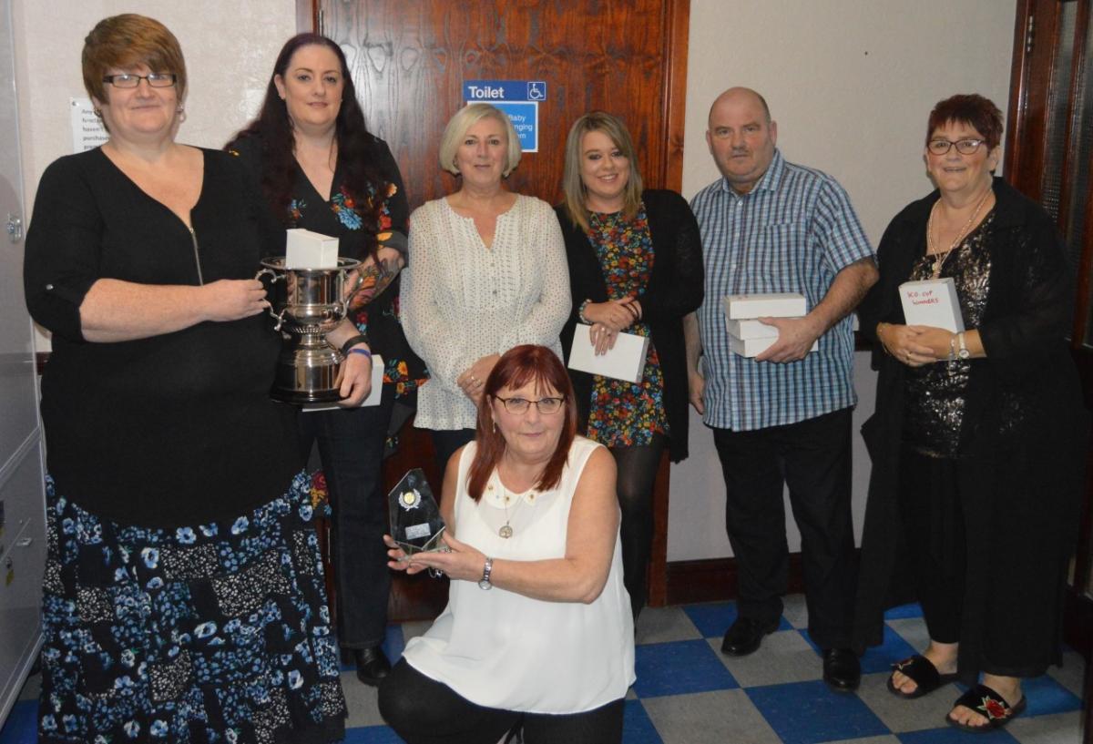 Champions Celebrate Successes In Barrow Mixed Darts League Awards