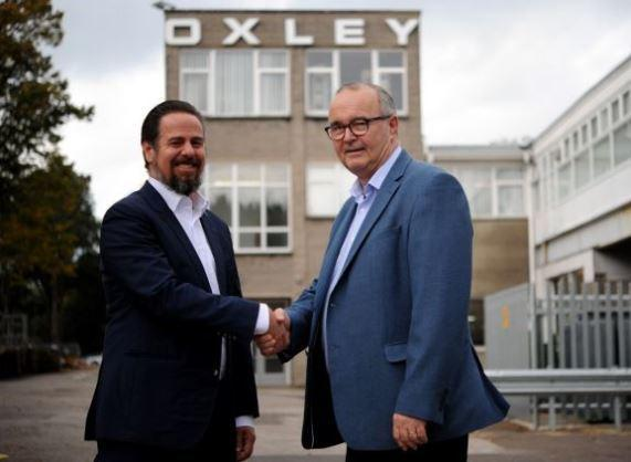 Oxley group appoints astute as german distributor the mail new deal marcus seitz and garry north m4hsunfo