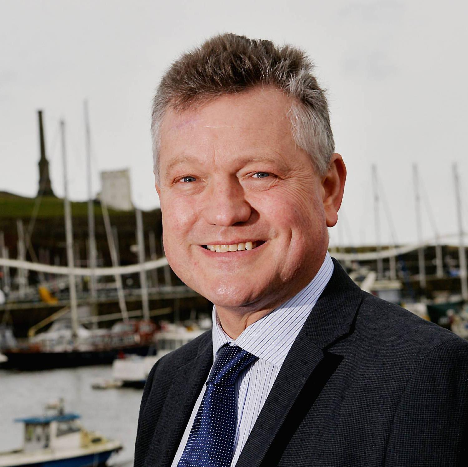 Mayor of Copeland Mike Starkie - North Shore Development  ..Pic Tom Kay     Tuesday 10th April 2018 50090100T008.JPG.
