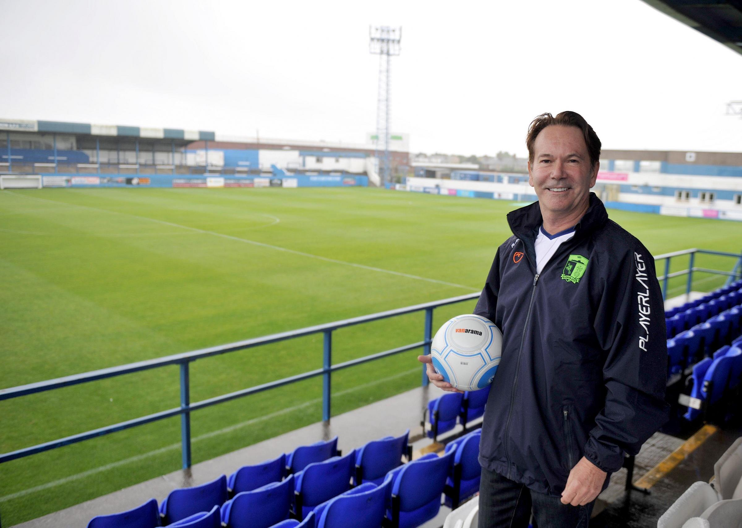 MOVING ON: Paul Casson's decision to step down as Barrow AFC chairman meant Raiders sponsor Paul Hornby took over at interim chairman
