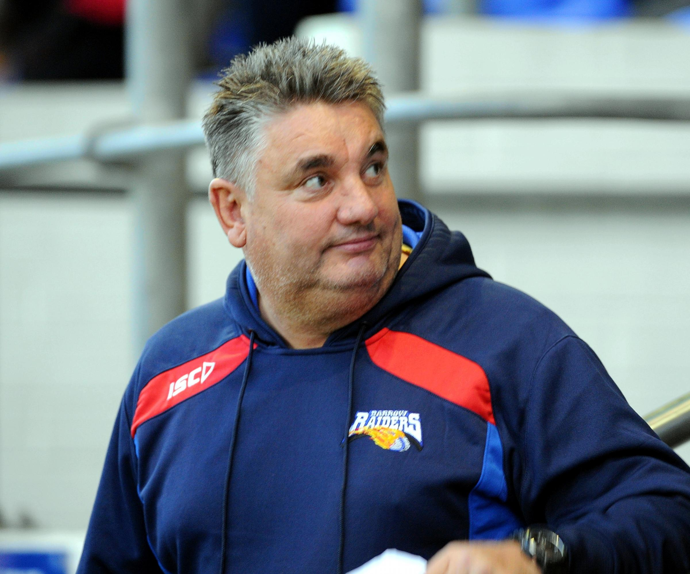 Barrow Raiders V Barrow and District Select - Coach - Paul Crarey 27/12/2015 JON GRANGER