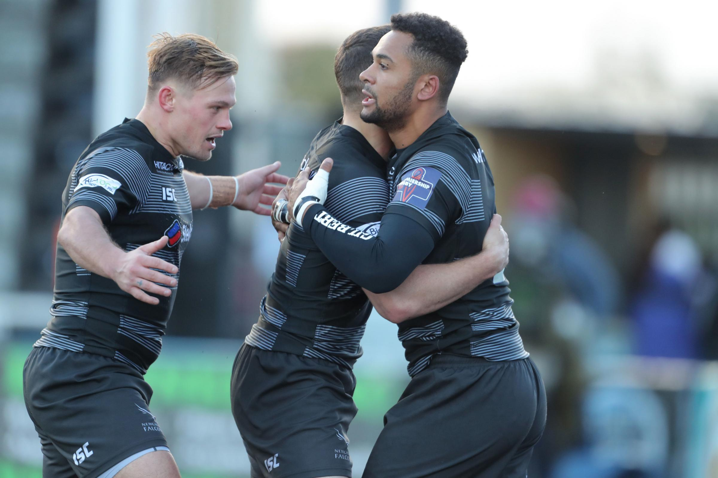 SUPPORT: Newcastle Falcons