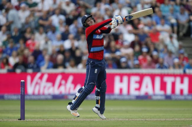 England's Liam Livingstone during the second NatWest T20 Blast match at the Cooper Associates County Ground, Taunton. PRESS ASSOCIATION Photo. Picture date: Friday June 23, 2017. See PA story CRICKET England. Photo credit should read: Paul Harding/PA