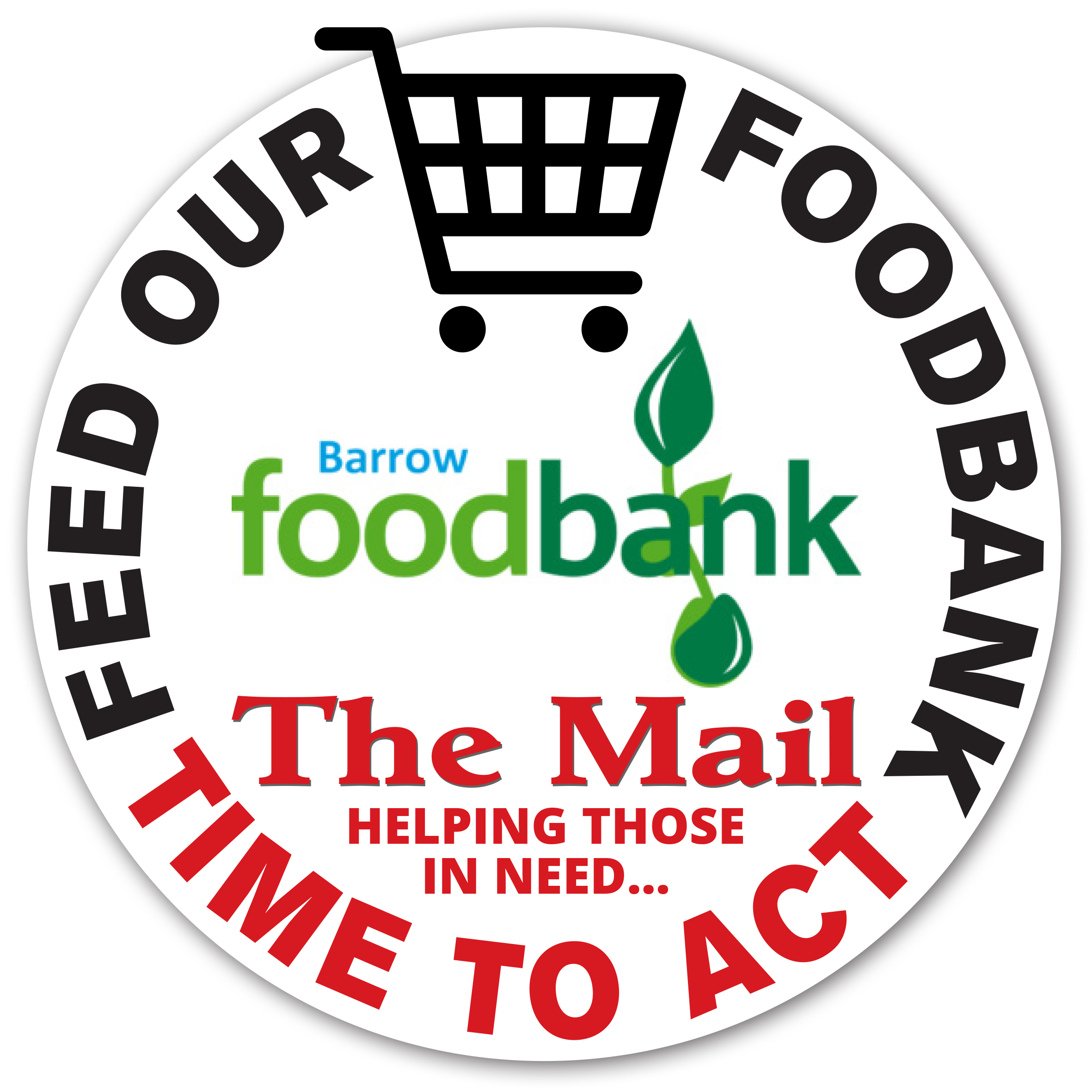 CAMPAIGN: The Mail's Feed our Foodbank campaign logo