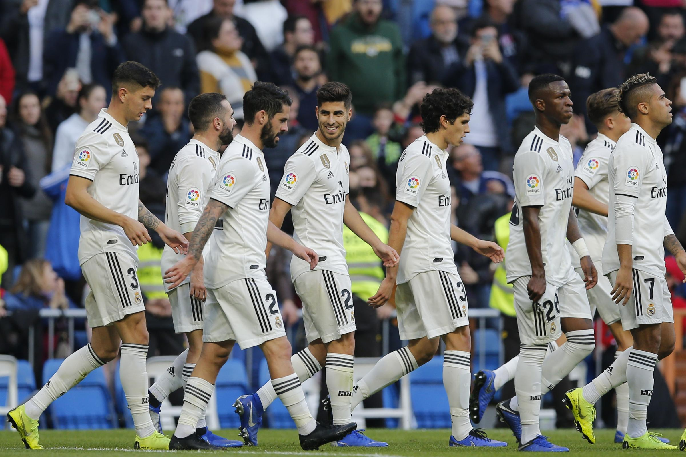 Real Madrid sealed their progression with a thrashing of Melilla at the Bernabeu