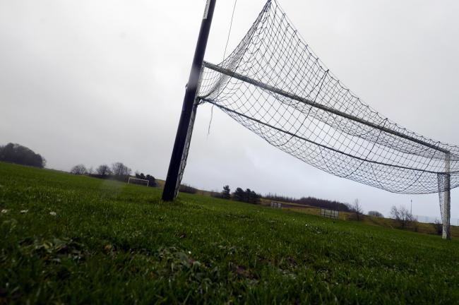 NO PLAY: Many of the area's football fixtures fell victim to Saturday's wet weather 	Picture: Jon Granger