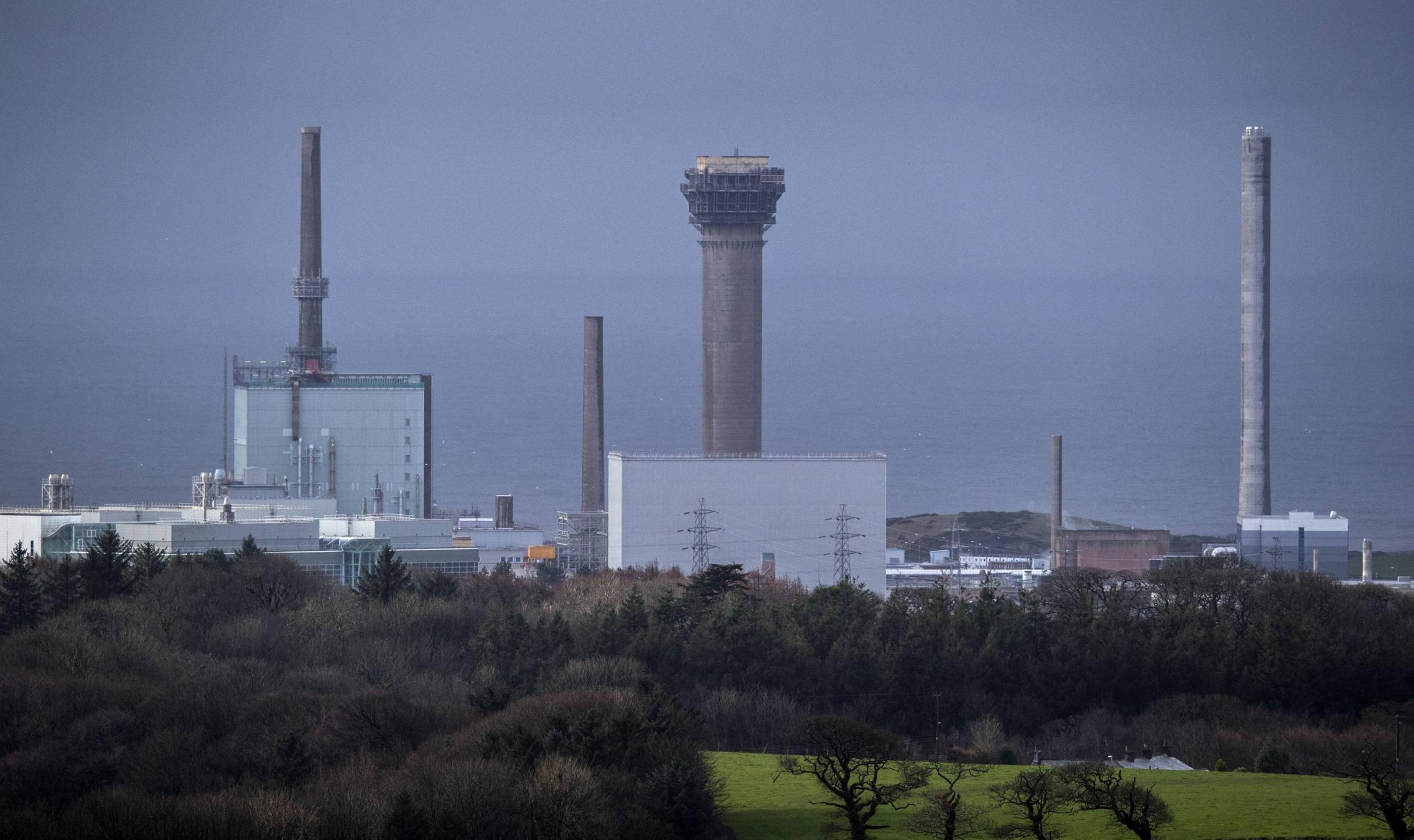File photo dated 23/02/17 of Sellafield Nuclear power plant in Cumbria. Workers at the Sellafield nuclear site are to stage a 24-hour strike in a dispute over pay. PRESS ASSOCIATION Photo. Issue date: Tuesday September 12, 2017. Members of the GMB union w