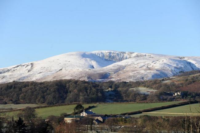 Black Combe From Broughton