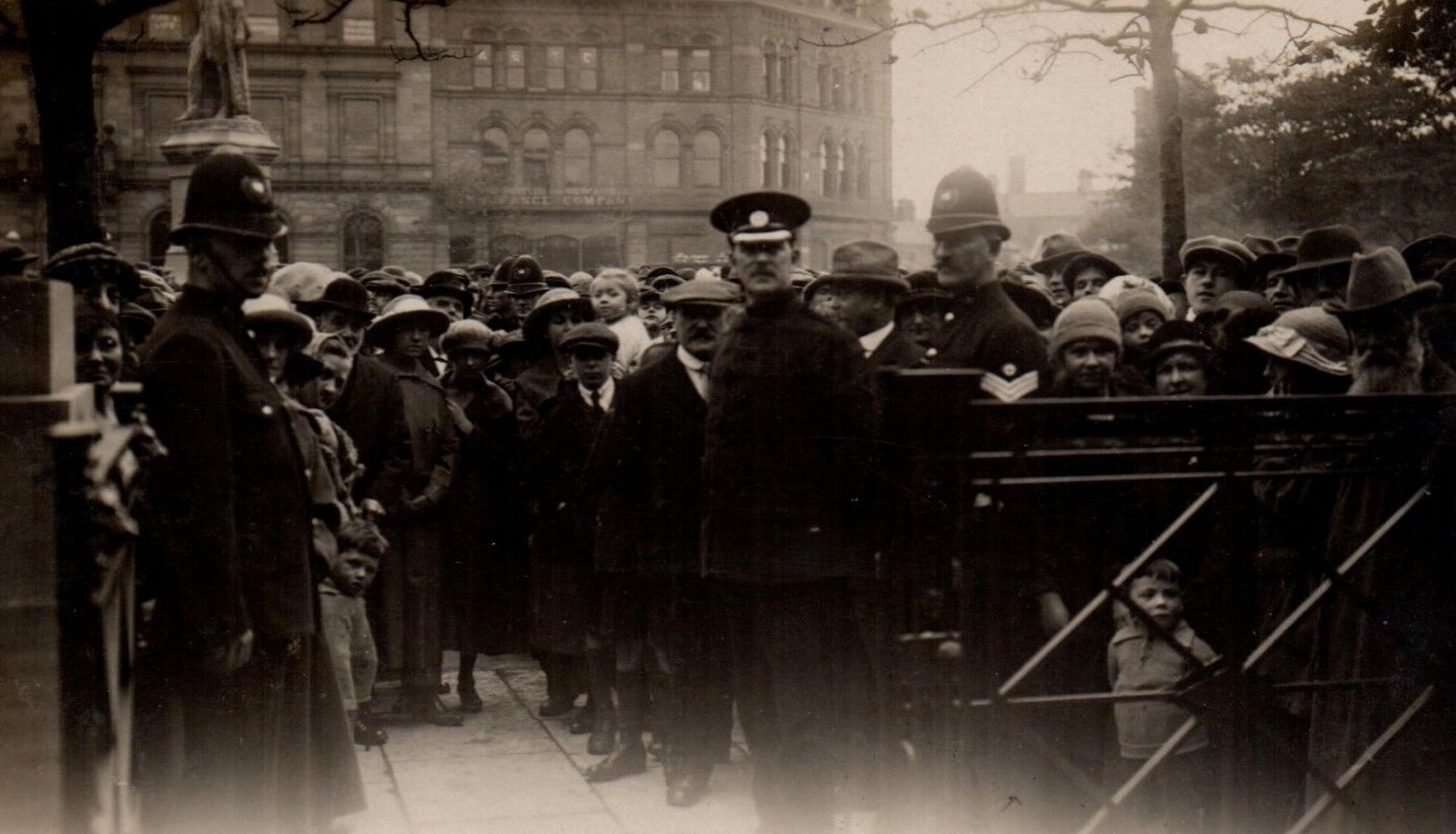 Event: The opening of the new Barrow library on October 5 in 1922 by Edward Sankey