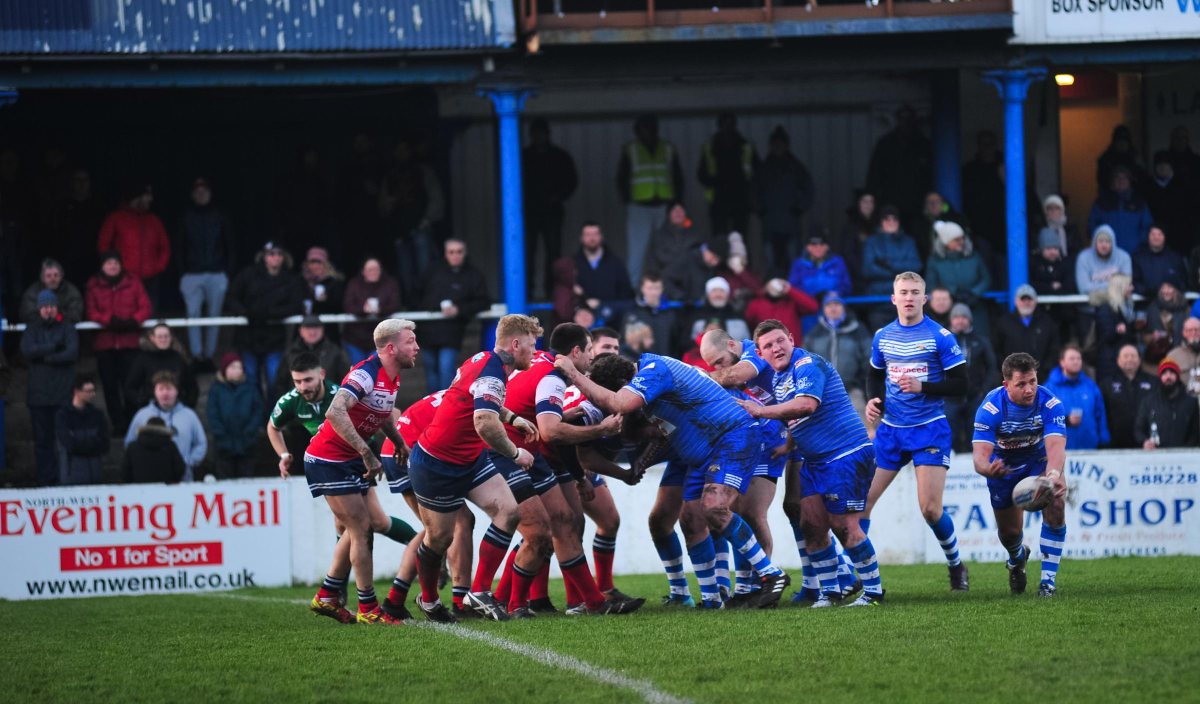 DEFEAT: Barrow Raiders opened pre-season with a loss at home to Oldham Picture: Donna Clifford