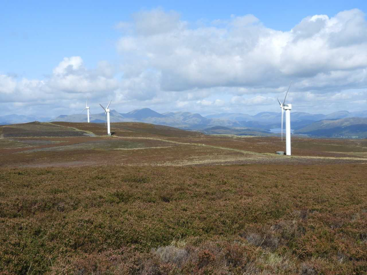 Kirkby Moor windfarm by Geoffrey Sinclair