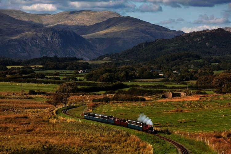 Ravenglass and Eskdale Railway has won the hearts of young and old with its charming steam trains and stunning landscape