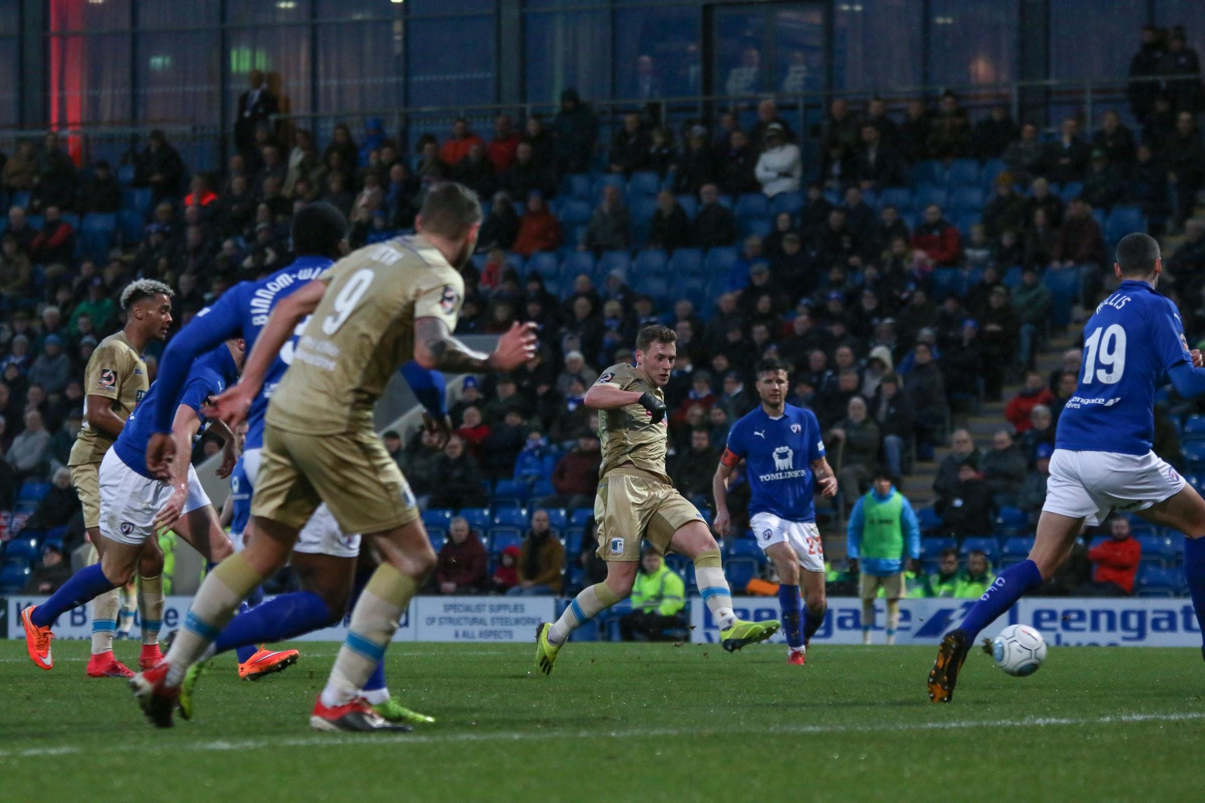 GOOD FORM: AFC at Chesterfield