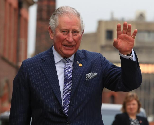The Prince of Wales arrives to attend a reception at Victoria Gallery and Museum, University of Liverpool, to celebrate his and Irish President Michael D Higgins' joint patronage of the Liverpool Institute of Irish Studies. PRESS ASSOCIATION Photo. Pi