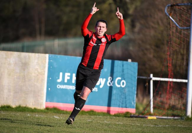 STILL GOING STRONG: Gareth Jones has scored 500 goals for Dalton United 		Picture: Lindsey Dickings