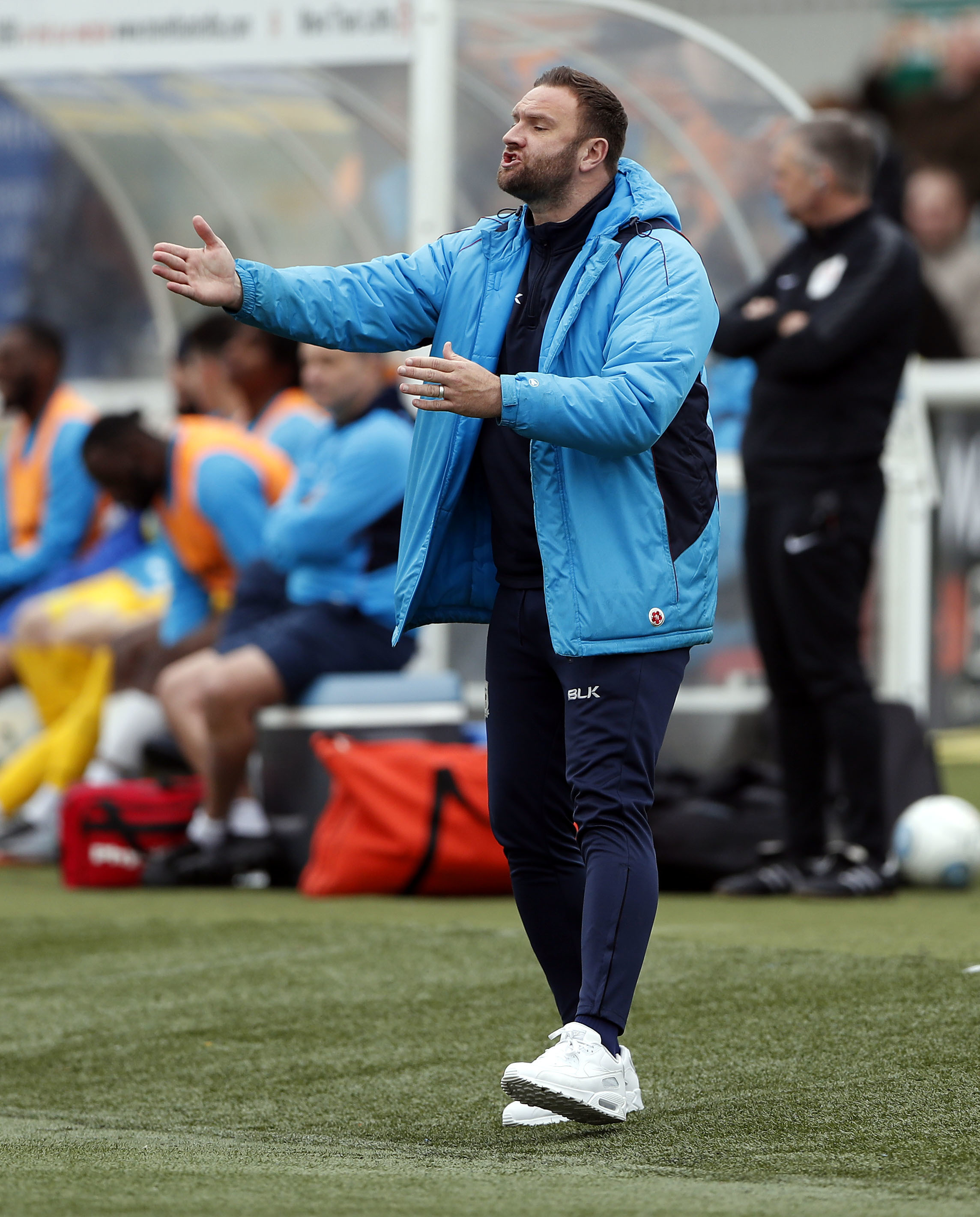 PUTTING IT ALL TOGETHER: Barrow manager Ian Evatt    Picture: Max Flego