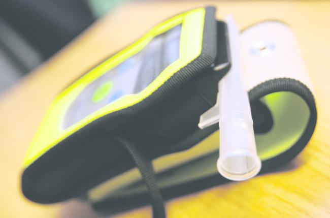 Image of police breathalyser