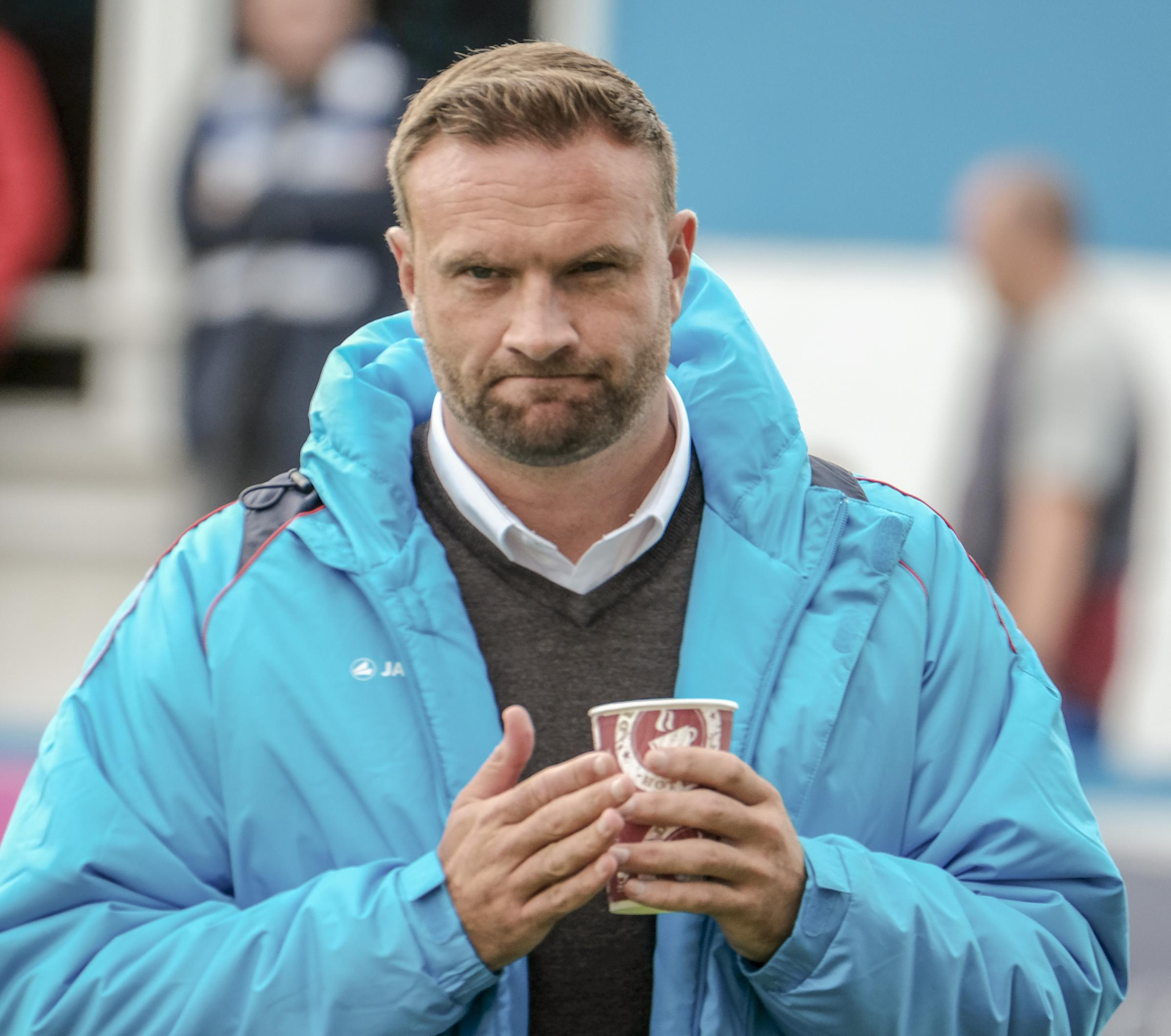 NO FEAR: Barrow AFC boss Ian Evatt