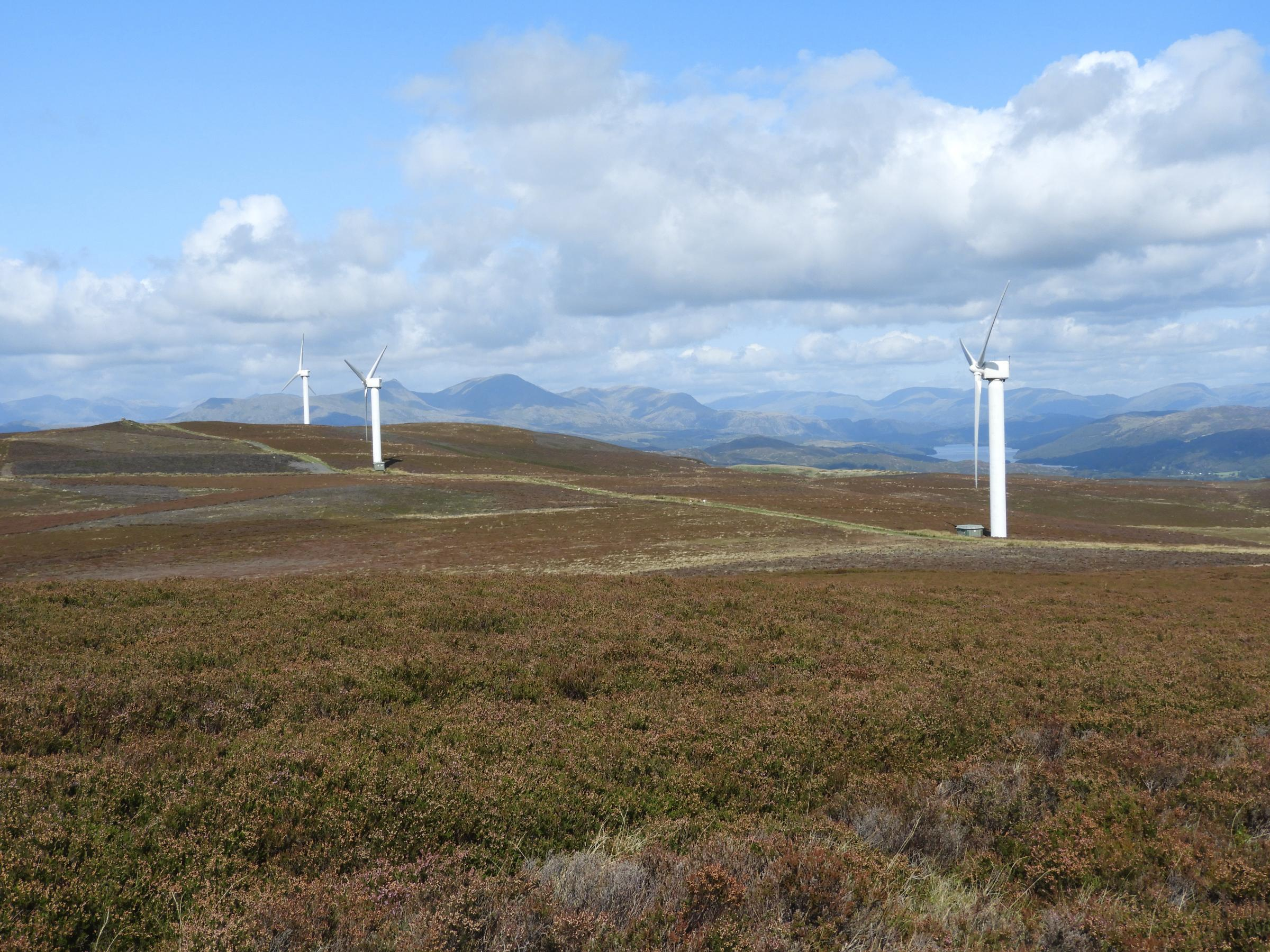 Kirkby Moor wind farm (Picture by Geoffrey Sinclair)