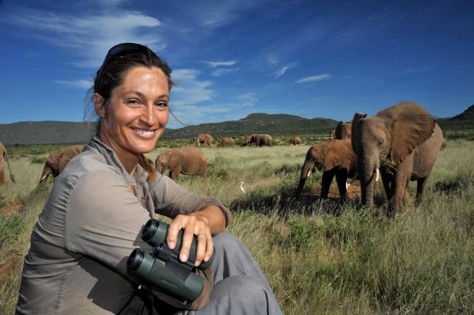 Saba Douglas-Hamilton stops off at The Forum with her acclaimed A Life with Elephants show captivating audiences with stories of her life and work in Kenya