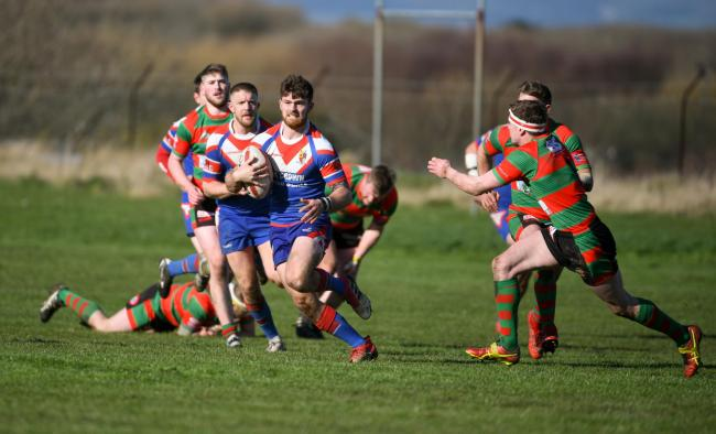 UP FOR THE CUP: Walney Central are just 80 minutes away from a place in the BARLA National Cup final