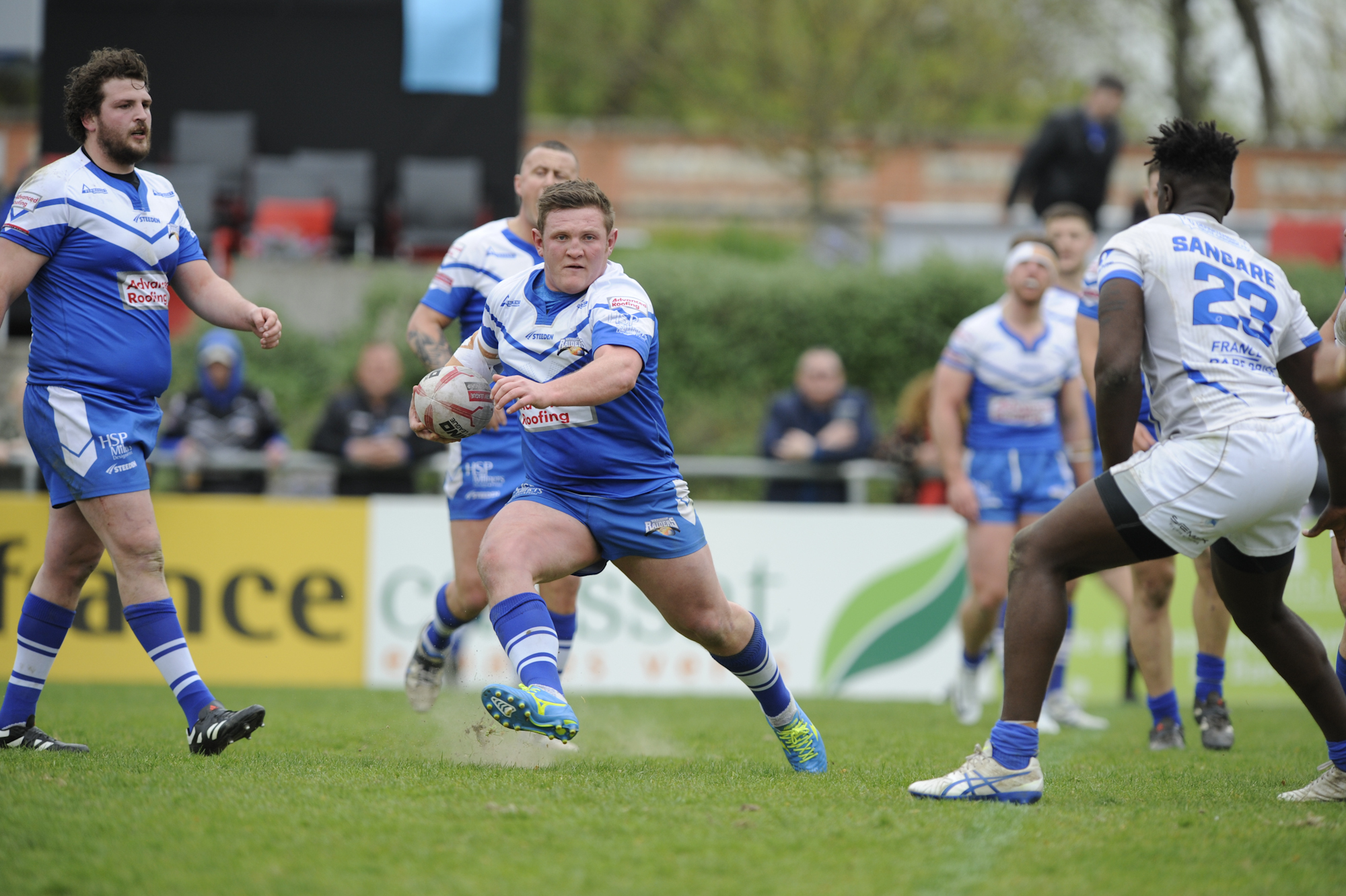 Barrow Raiders were defeated 50-4 in Toulouse last year