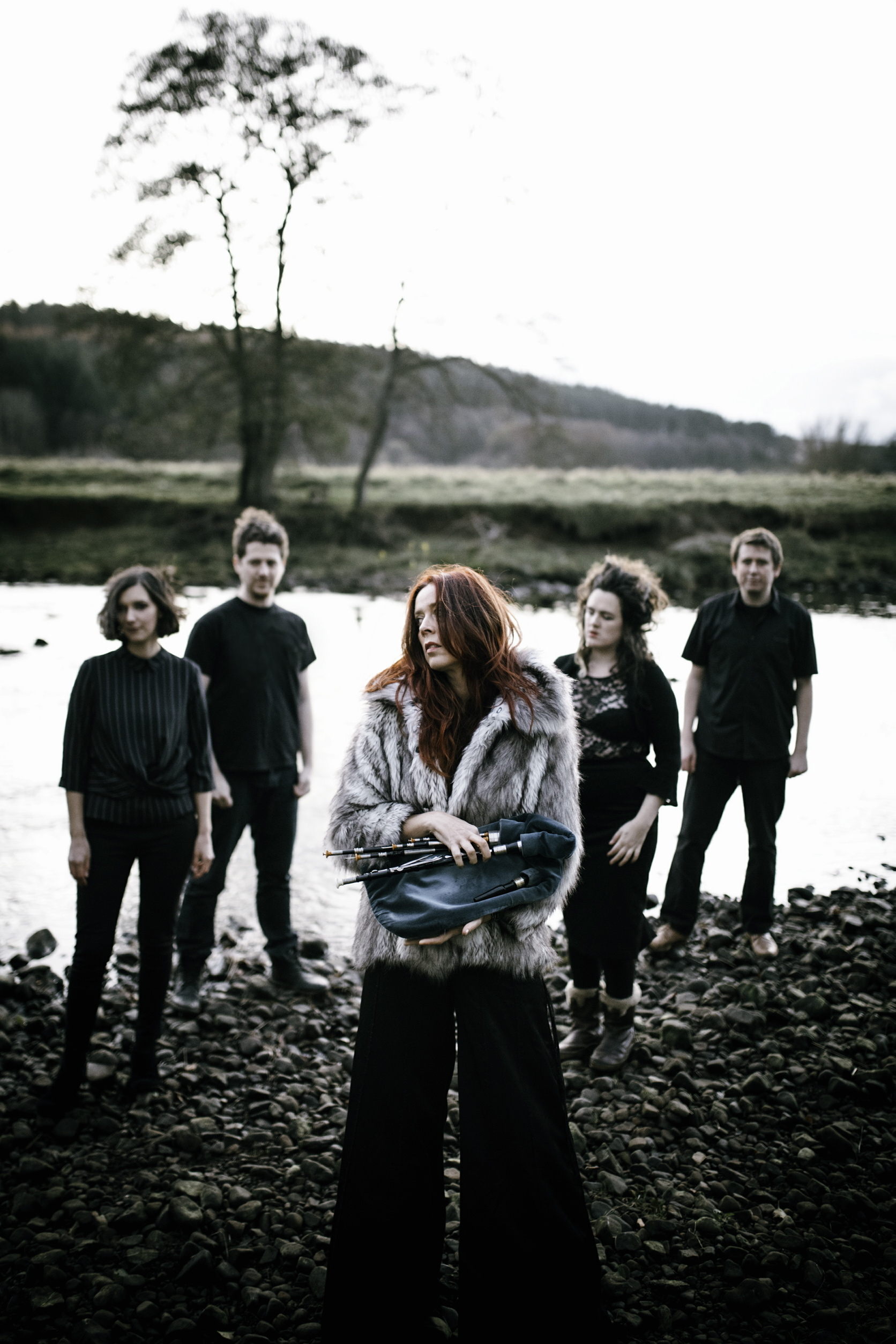 Kathryn Tickell and The Darkening are out and about touring and playing Kendal's Brewery Arts Centre on Friday, March 22