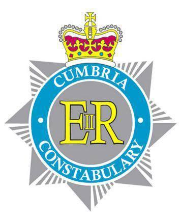 CUTOUT Cumbria Constabulary - police logo USE THIS ONE (NEW LOGO FROM MARCH 2011).