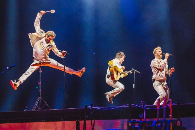 Take That are celebrating their 30th anniversary with a stadium tour and their performance at Cardiff's Principality Stadium will be screened live to Vue Barrow