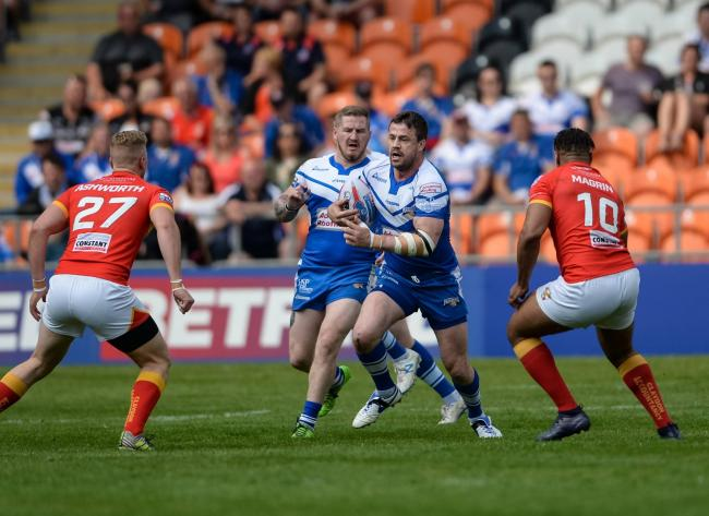 TV DATE: Barrow Raiders' Summer Bash game against Sheffield Eagles will be one of those shown on Sky Sports			Picture: Richard Land