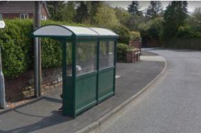 17 downpage bus shelter