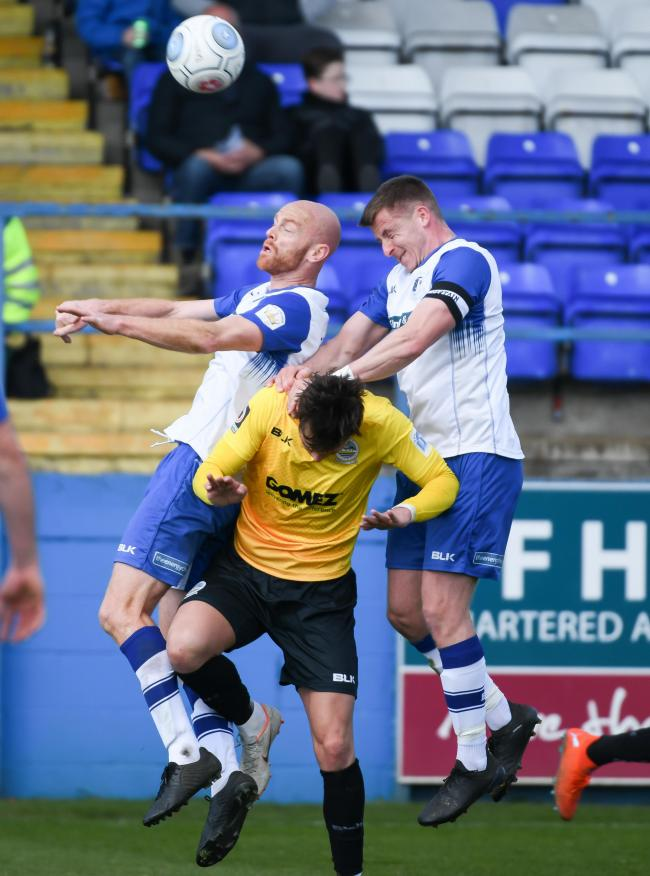 Barrow AFC are hoping to push for the play-offs next season