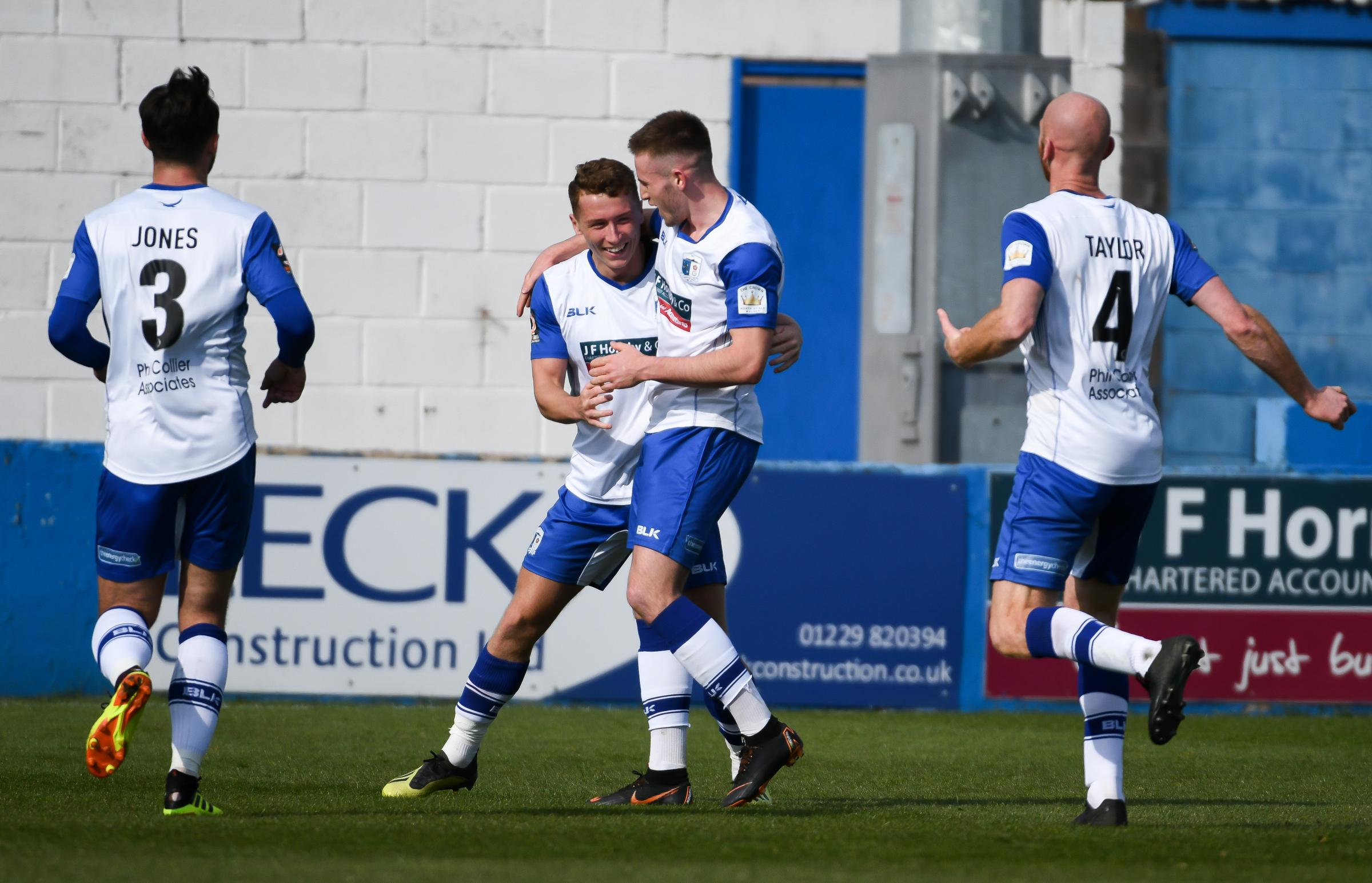 HAPPY DAYS: Exciting times lie ahead for Barrow AFC    Picture: Lindsey Dickings
