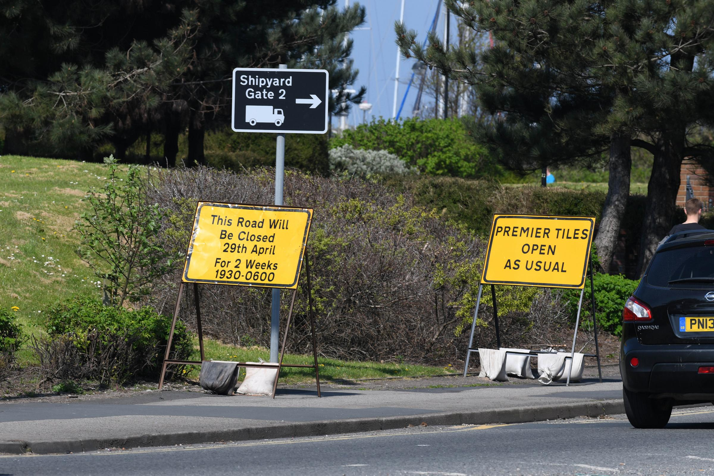 CLOSED: Major Barrow road to close for two weeks