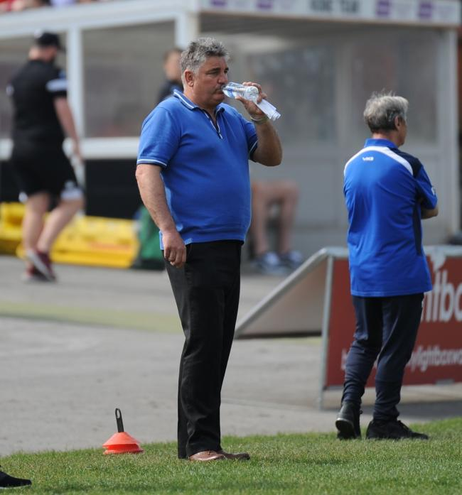 Paul Crarey was pleased with how Barrow played in the first half