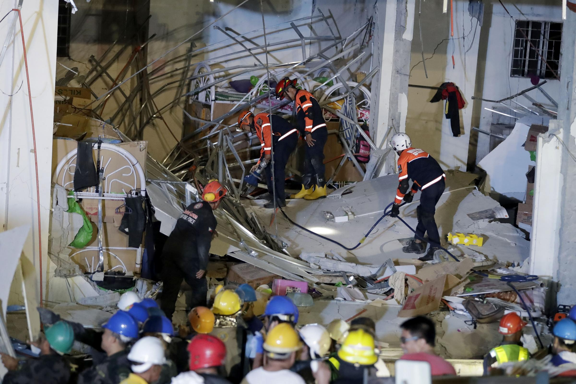 Rescuers continue to search for survivors following Monday's magnitude 6.1 earthquake