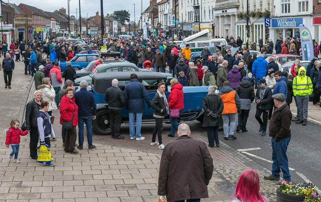 NORTHALLERTON: Thousands are expected at the town's Classic Car Sunday