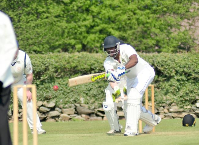 Janith de Silva claimed four wickets for Lindal Moor