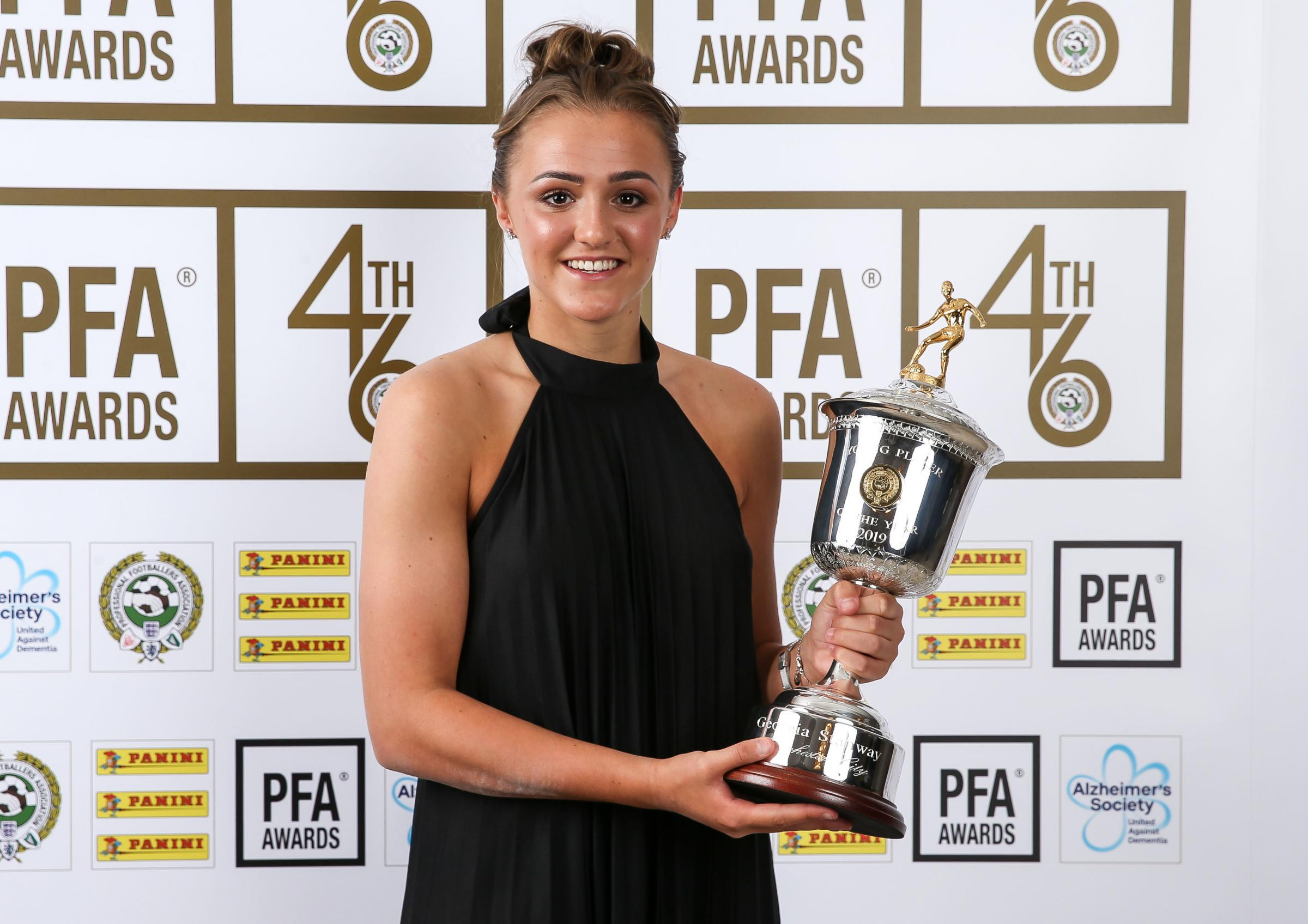 Barrow S Georgia Stanway Named Pfa Young Women S Player Of The Year After Outstanding Season The Mail